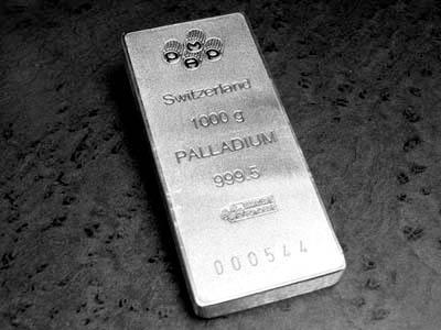 Паладият е метал от платиновата група, с ...
